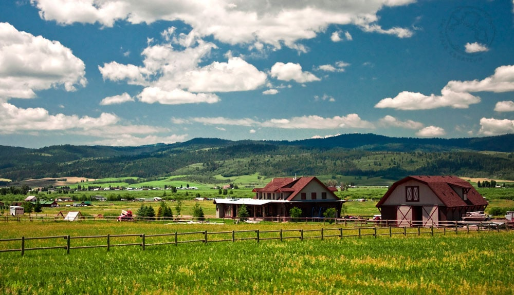 Las praderas de Wyoming
