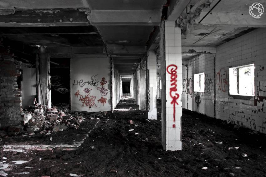 La casa en ruinas
