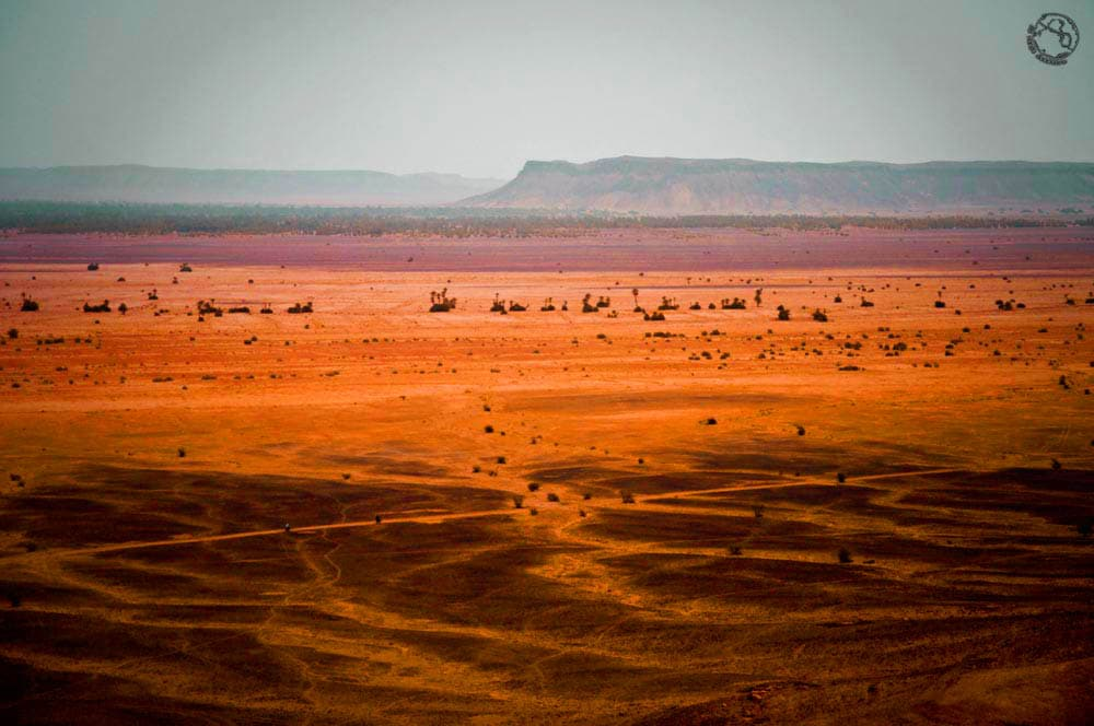 Camino al desierto