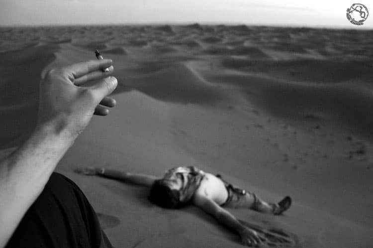 La paz del desierto (Erg Chigaga)
