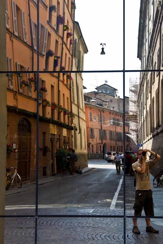 Por la aburrida Parma