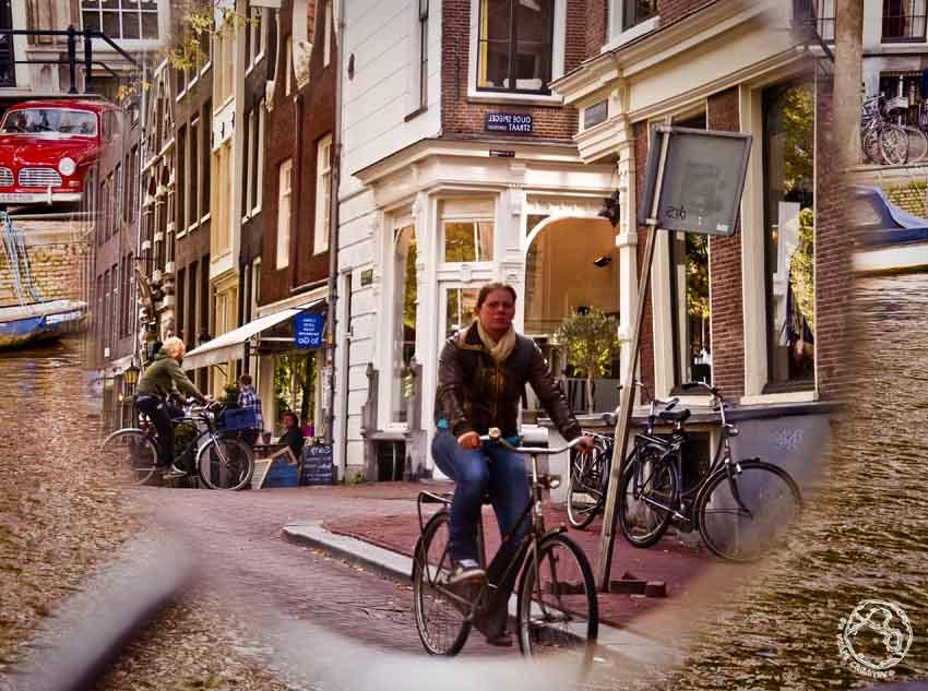 Un extraño efecto en Amsterdam