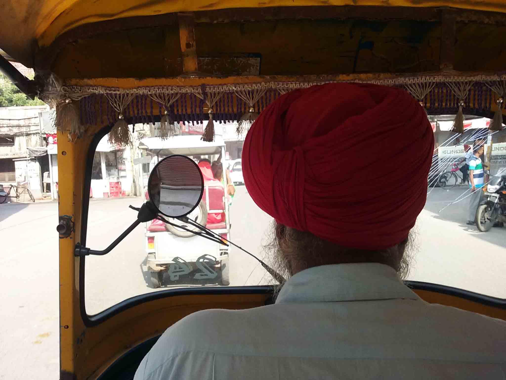 tuk tuk en India