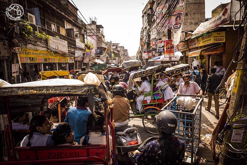 Caos Delhi