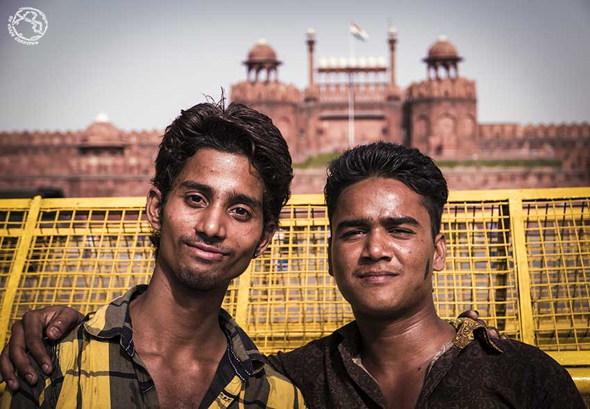 La gente de India