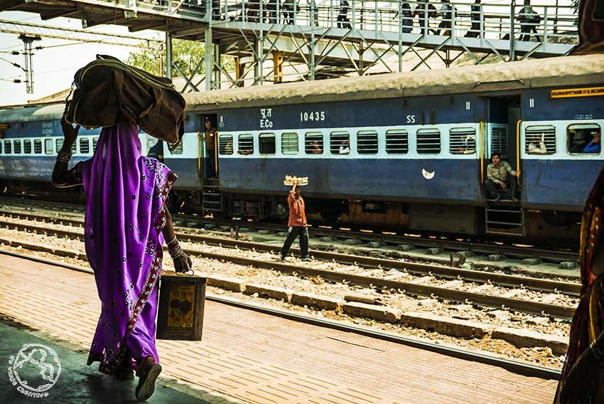 Trenes en India, viajar en India