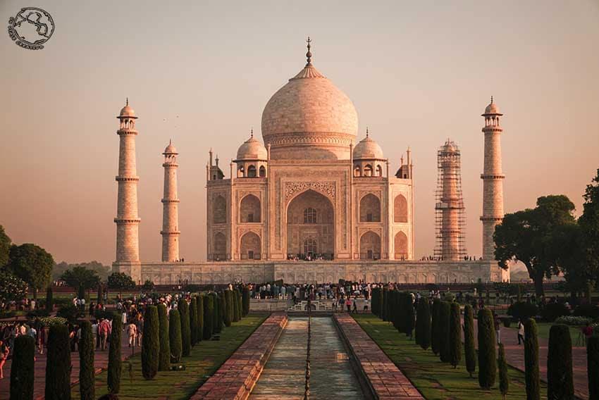Taj Mahal, que ver en India en un mes