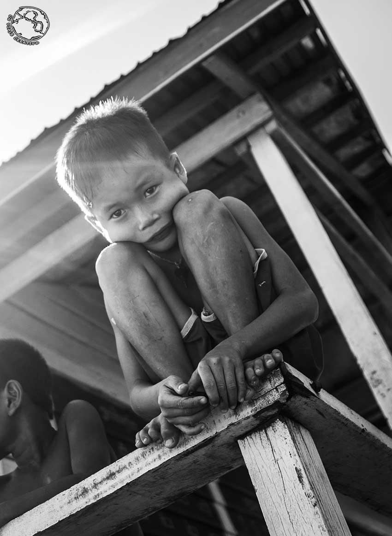 Niño de Camboya