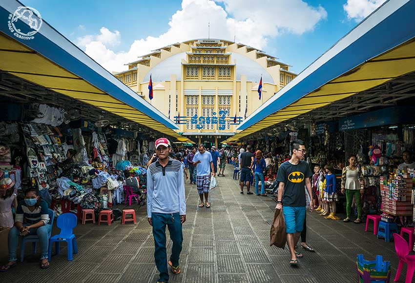 Mercado central Phnom Penh