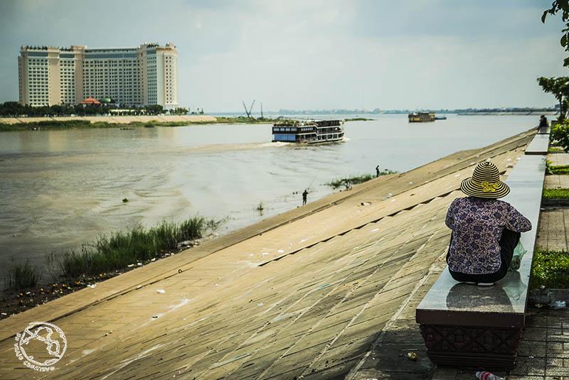 Río Mekong, Camboya