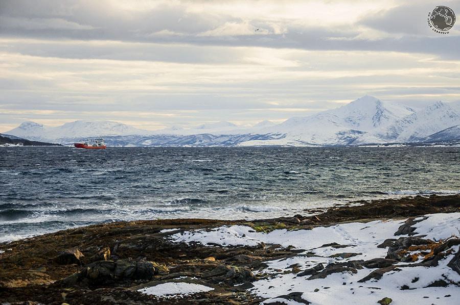 El mar en noruega hipnotiza