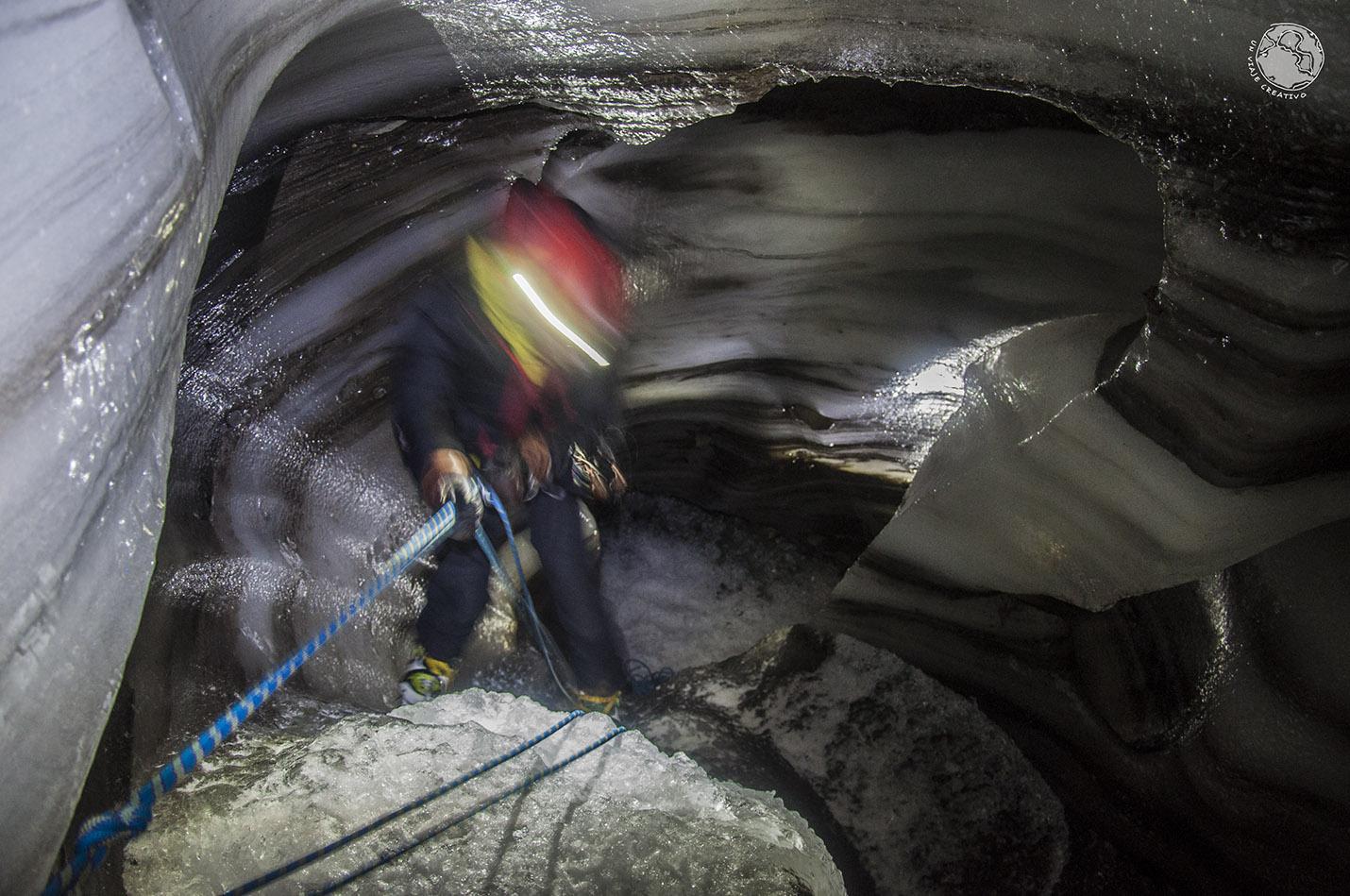 Svalbard Cueva de hielo
