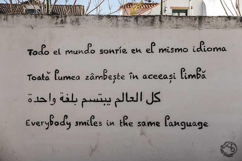 Frases acción poética en Colmenar del Arroyo