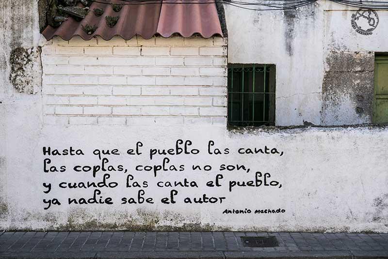 frase poética Machado