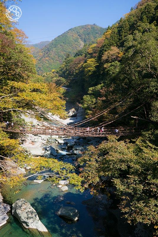 Crocodile creek (valle de Iya, Shikoku, Japón)