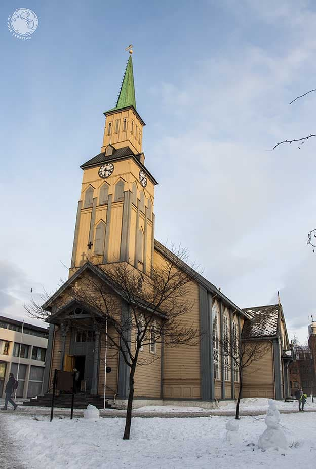catedral de Tromso Laponia noruega