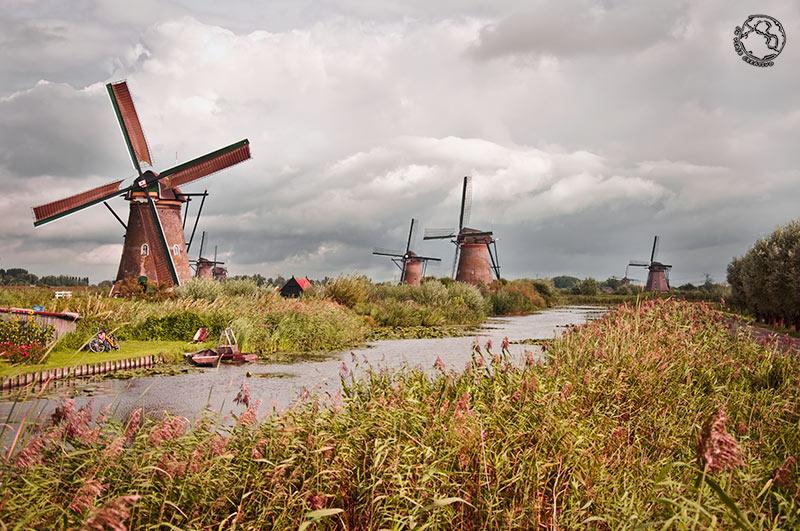 Molinos de Kinderdijk, Holanda