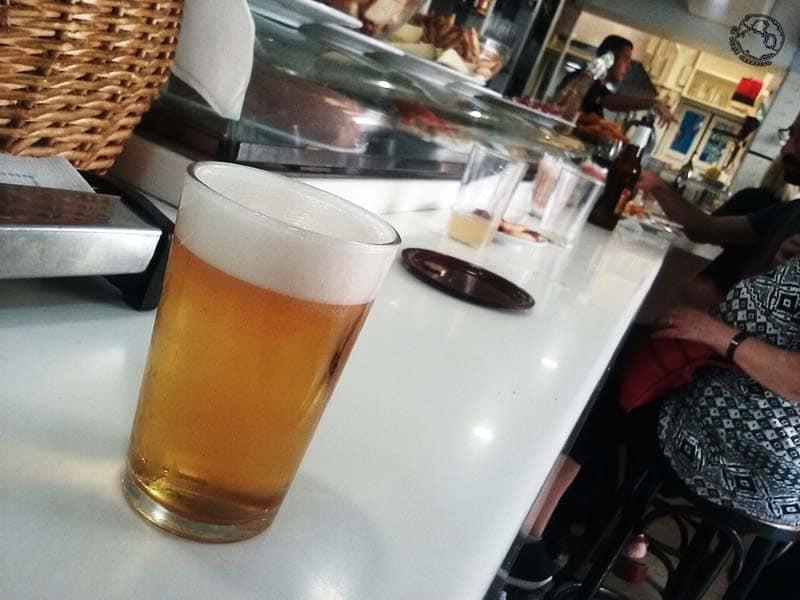caña de cerveza