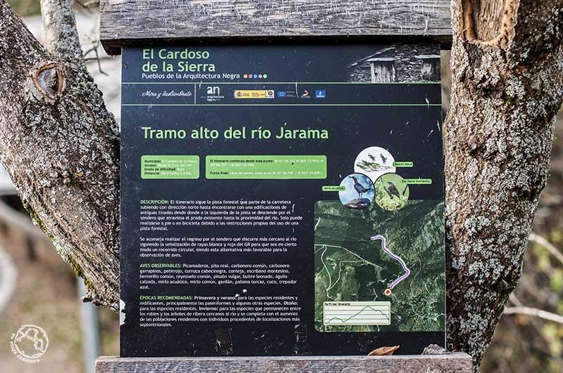 Trekking en Montejo de la Sierra