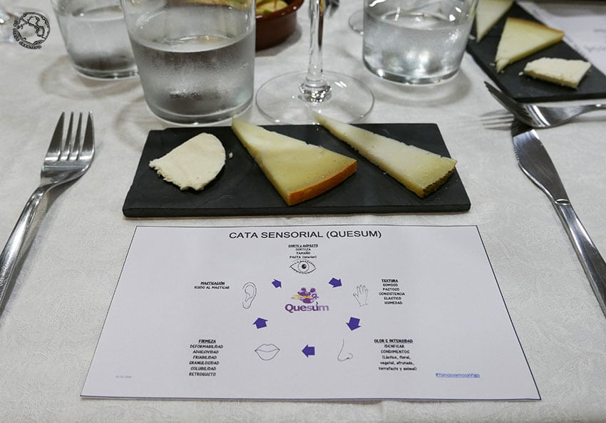 Quesum, cata de quesos