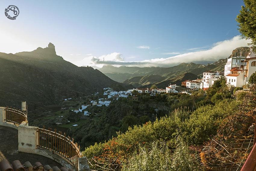 Pueblo de Tejeda, uno de las razones para ir a Gran Canaria