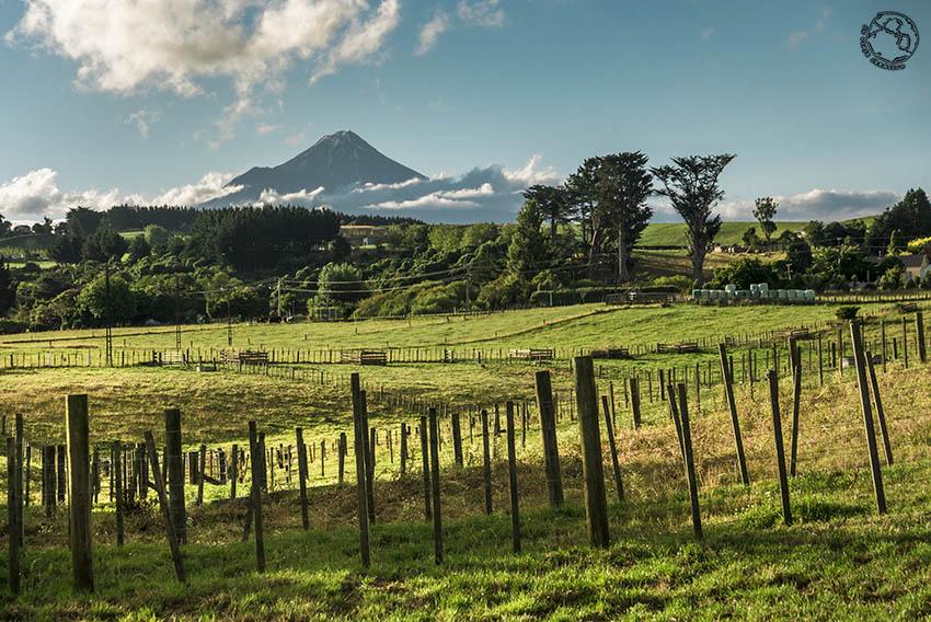 Monte Taranaki, Isla Norte de Nueva Zelanda