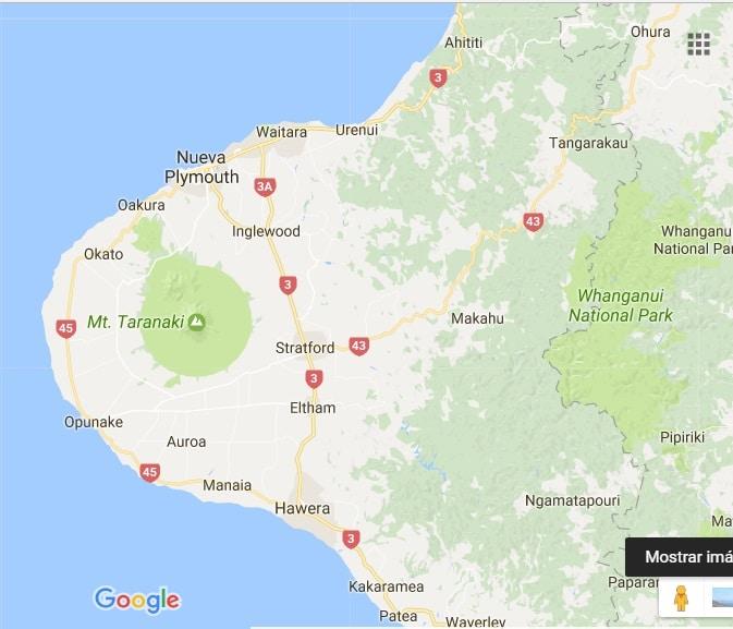 Taranaki maps
