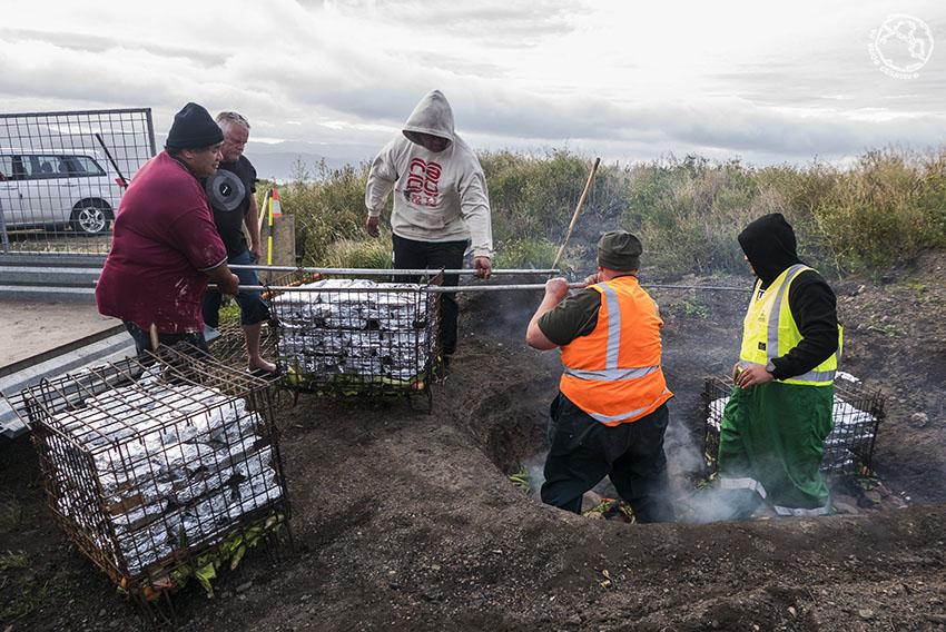 Cultura maorí: el hangi
