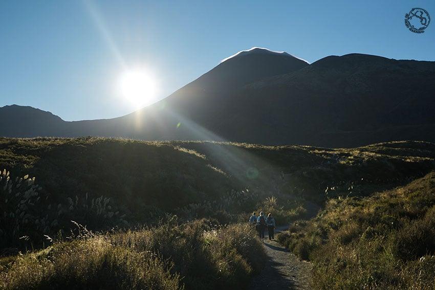El Monte del Destino por la mañana