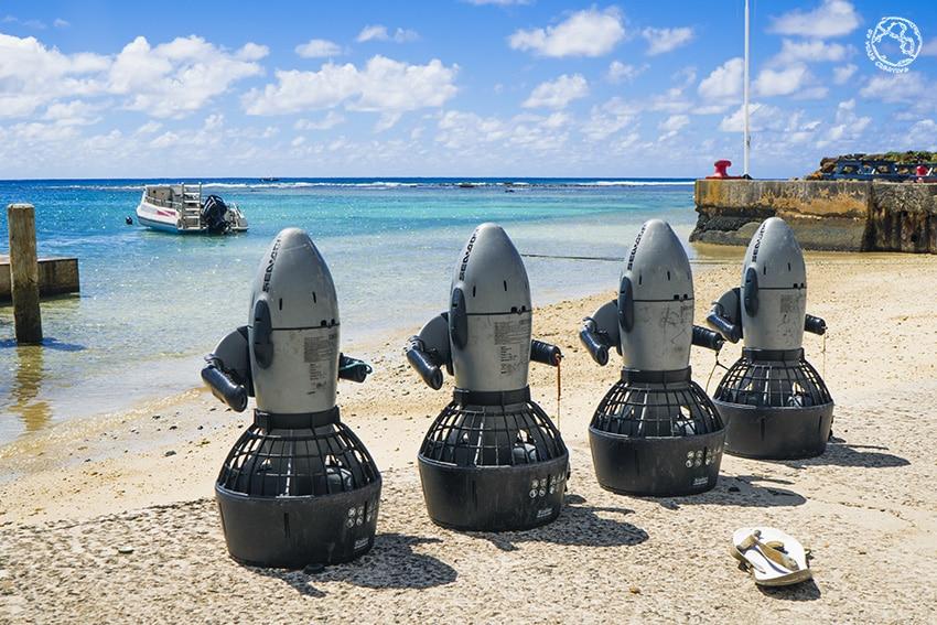 Sea Scooter Rarotonga