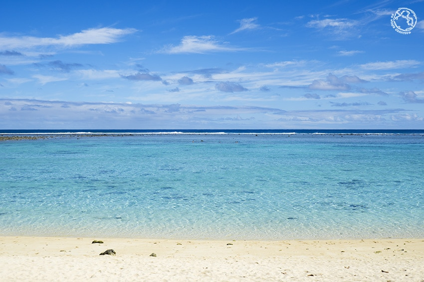 playa en Rarotonga