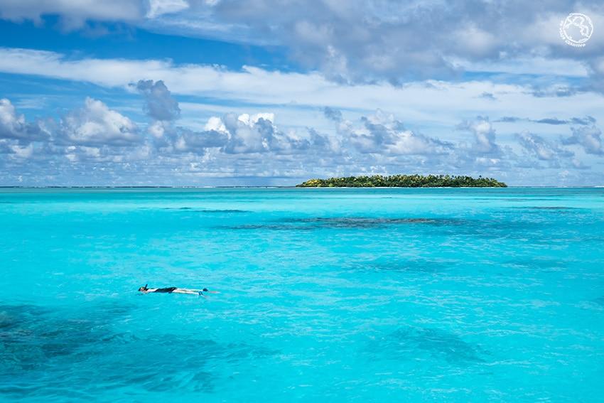 Islas Cook buceo snorkel