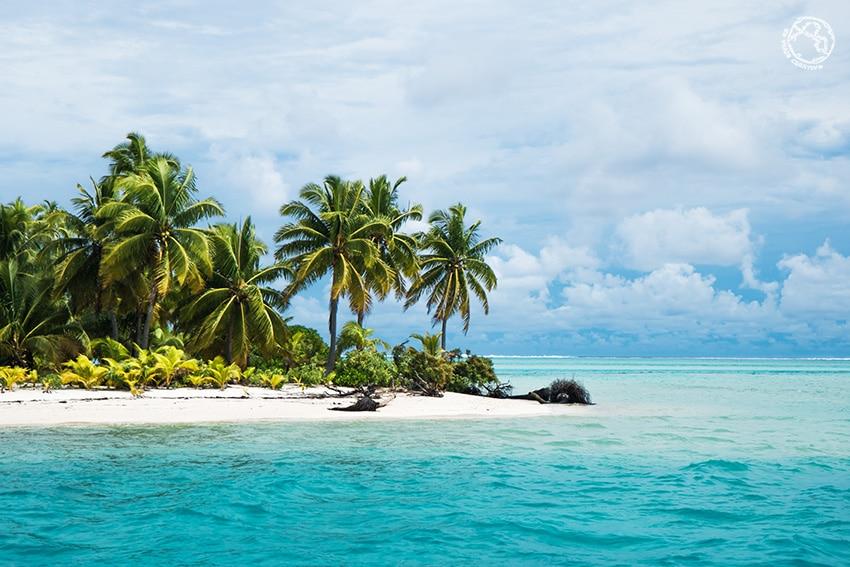 Islas Cook atolón Pacífico