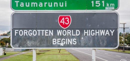Carretera del mundo olvidado