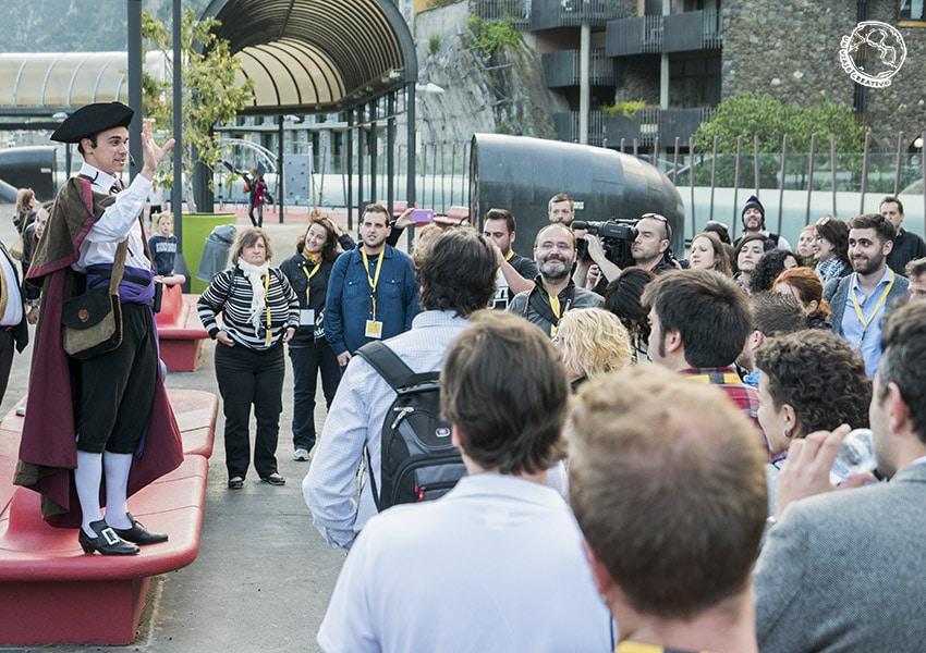 visita teatralizada Andorra