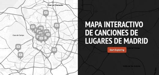 Mapa interactivo canciones Madrid2