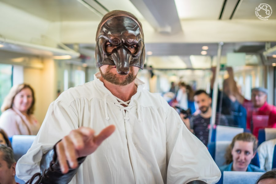 sigüenza tren medieval