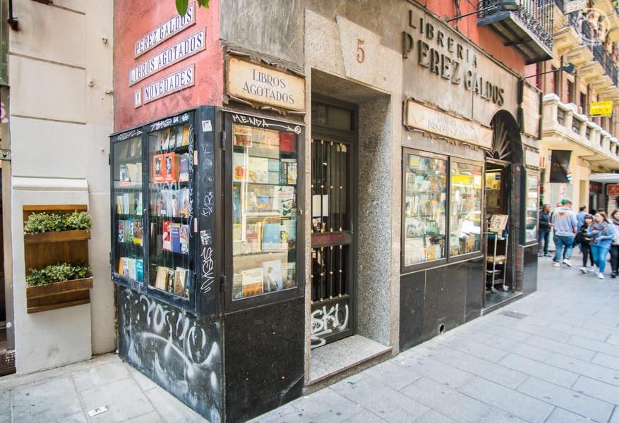 Librerías en Madrid-10