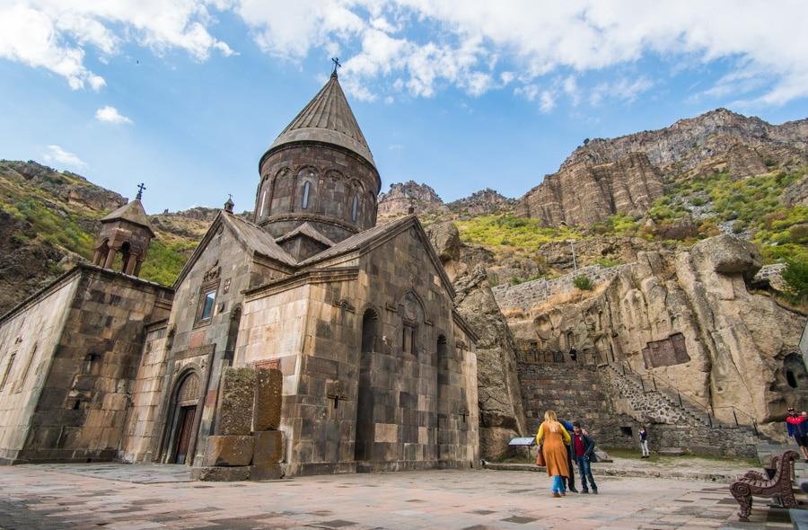 Qué ver en Armenia Monasterio de Geghard