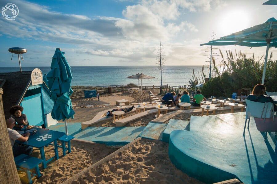 El Blue bar en Formentera