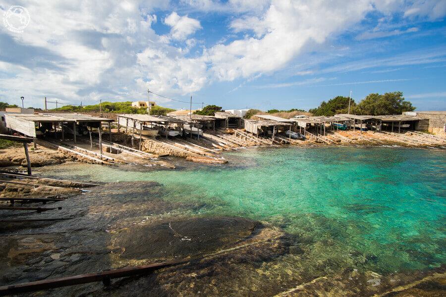 Embarcaderos en Formentera