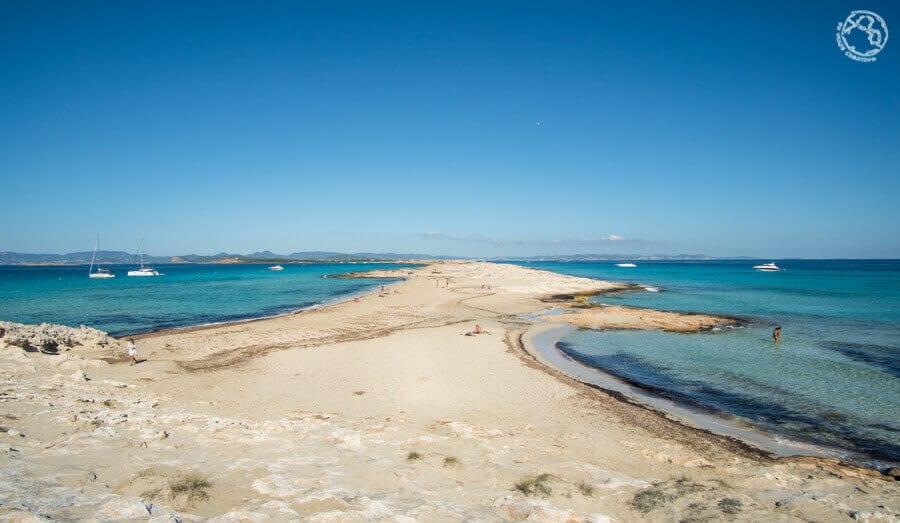 Playa ses Illetes, Formentera