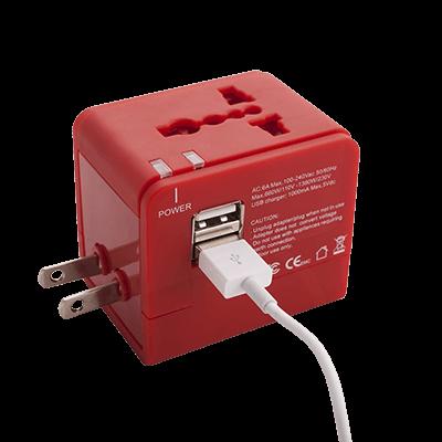 Adaptador enchufe de viaje Dian con 2 USB