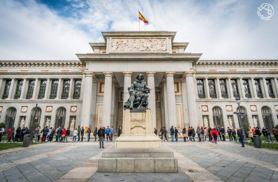 Museo del Prado qué hacer en Madrid en 3 días
