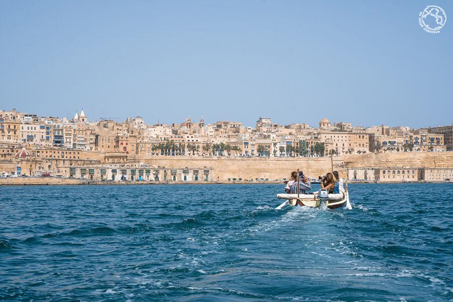 que ver en Malta, paseo en bote