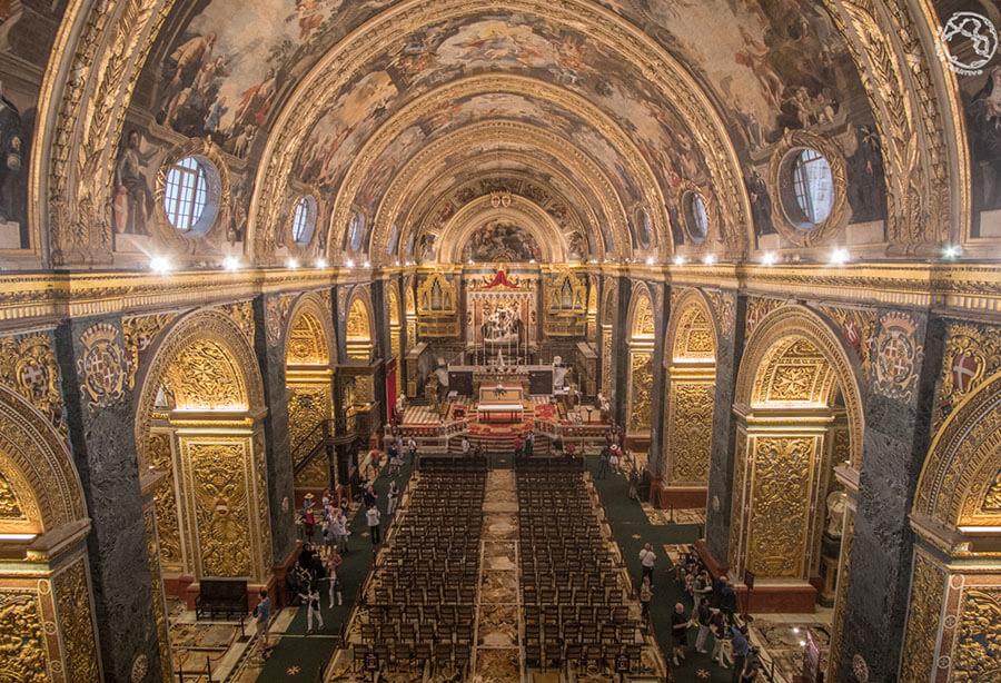 que ver en Malta cocatedral Valeta