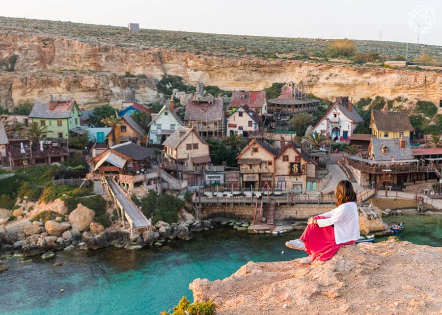 Pueblo de Popeye, Popeye village Malta
