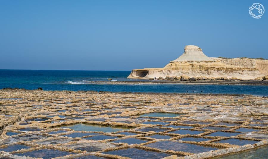 Salinas en isla de Gozo