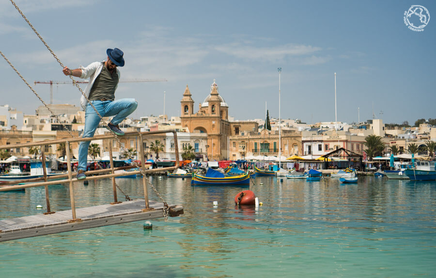 que ver en Malta Marsaxlokk