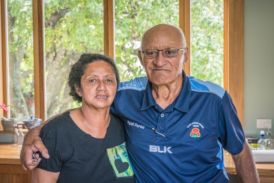 Big John y Edda, dos Paniora, los maorís españoles